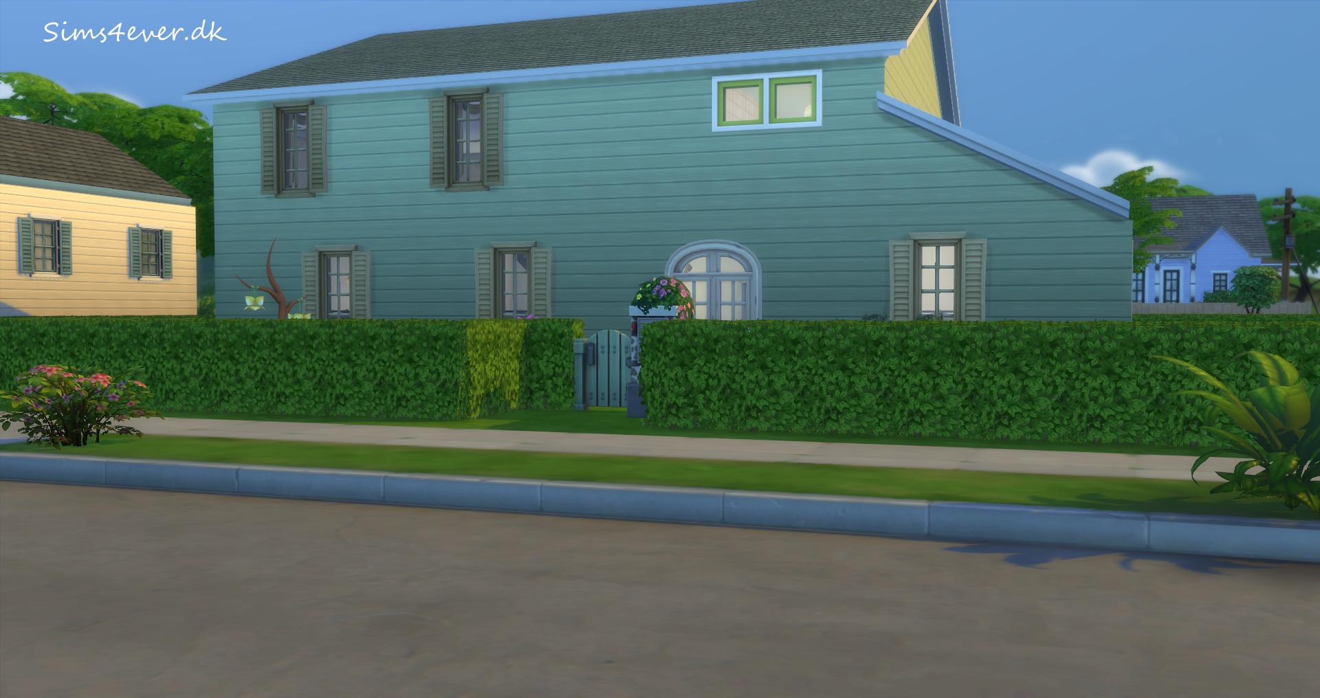 det nye ombyggede hus